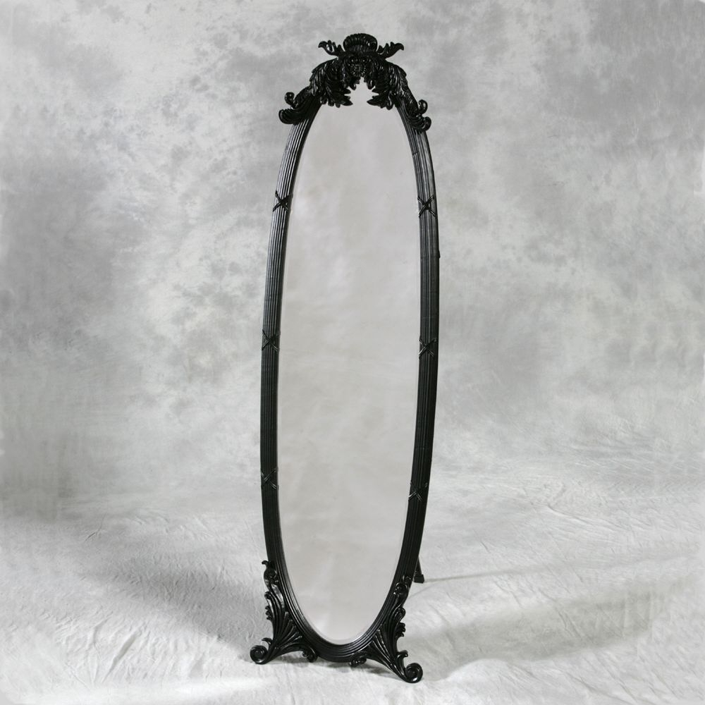 Freestanding Mirrors Archives Chic Interiorschic Interiors With Regard To Free Standing Oval Mirror (Image 10 of 15)