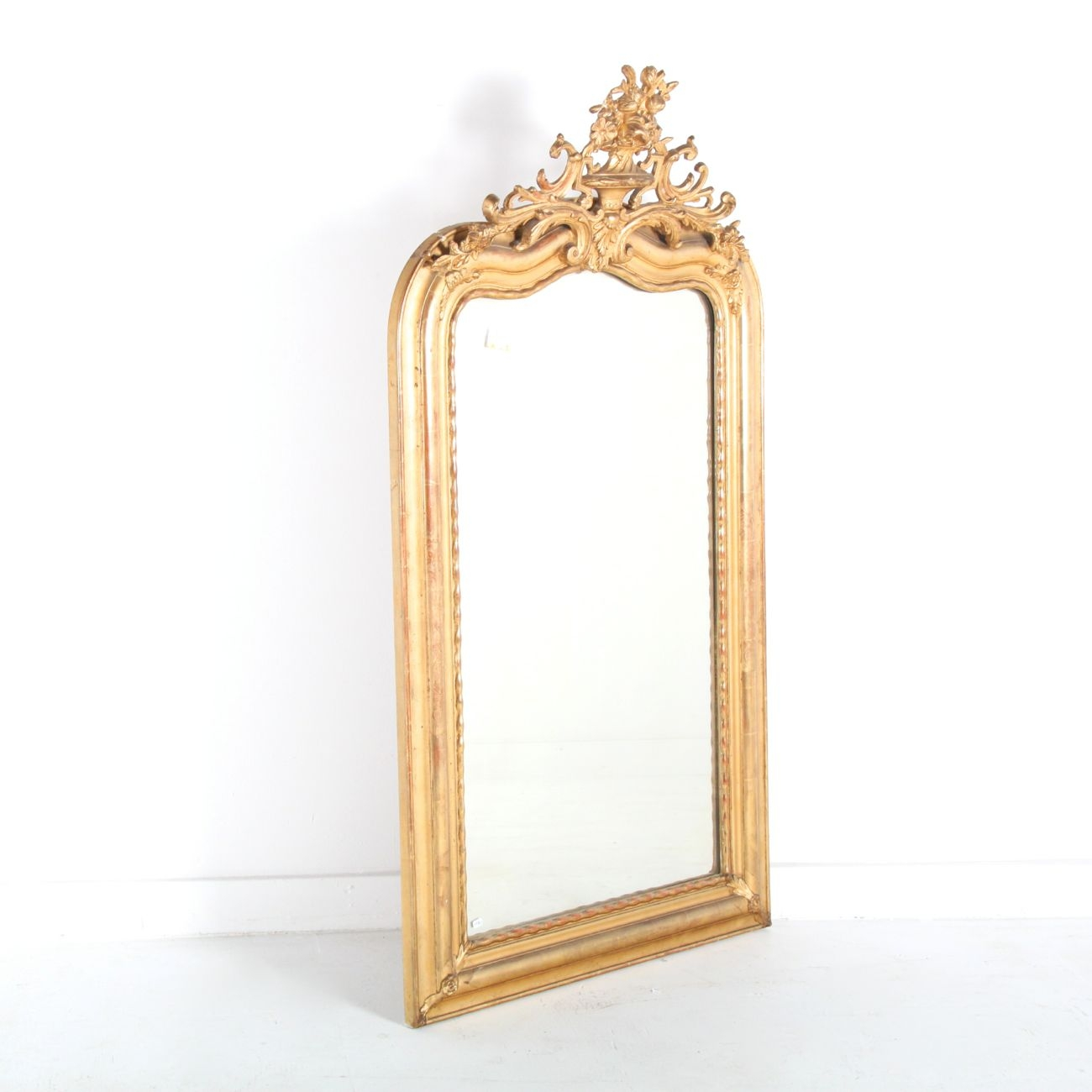 French Antique Gold Mirror Vancouver Antiques Vintage Inside Antique Gold Mirror French (Image 8 of 15)