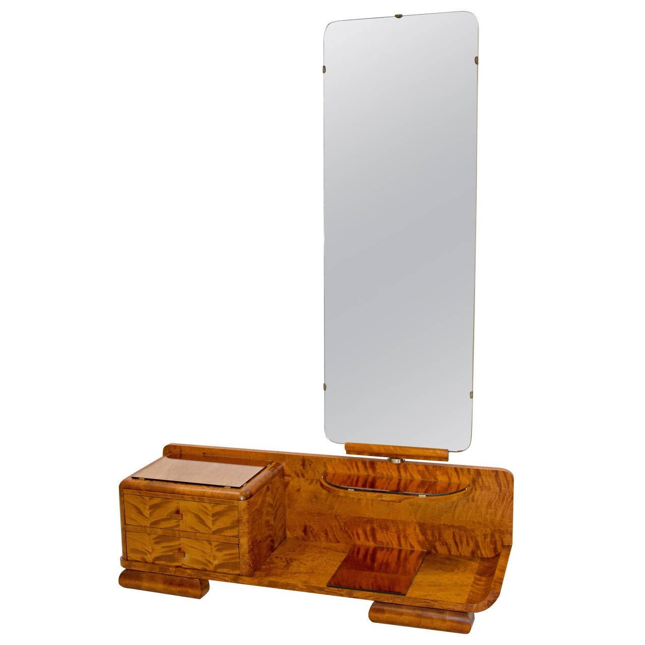 French Art Deco Vanity Full Length Cheval Dressing Mirror At 1stdibs Regarding Art Deco Full Length Mirror (View 10 of 15)