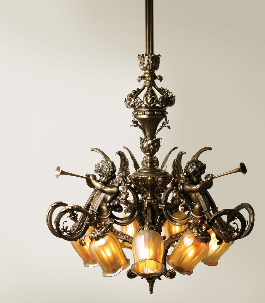 French Baroque Chandelier Nine Light Chandelier With Intri Flickr With Regard To Baroque Chandelier (Image 9 of 15)