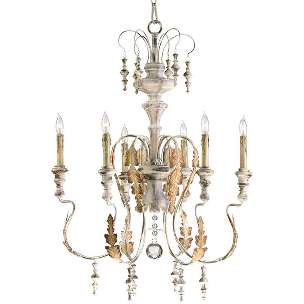 French Country Chandelier Awesome Lotusep Throughout Country Chic Chandelier (Image 9 of 15)