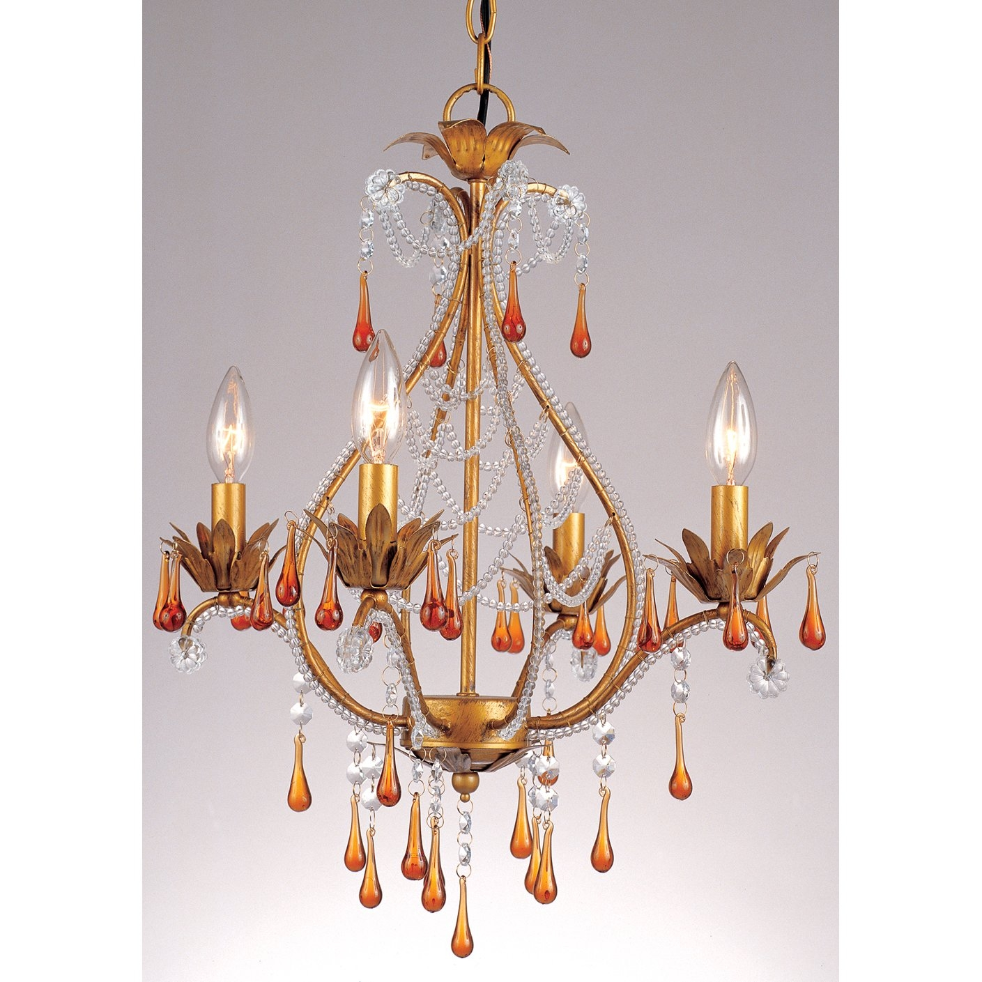 French Gold Chandeliers Youll Love Wayfair With Regard To French Gold Chandelier (Image 8 of 14)
