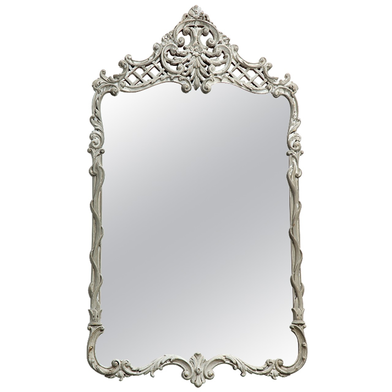 French Rococo Mirror Prudence Designs Events Prudence In Rococo Mirror (Image 8 of 15)
