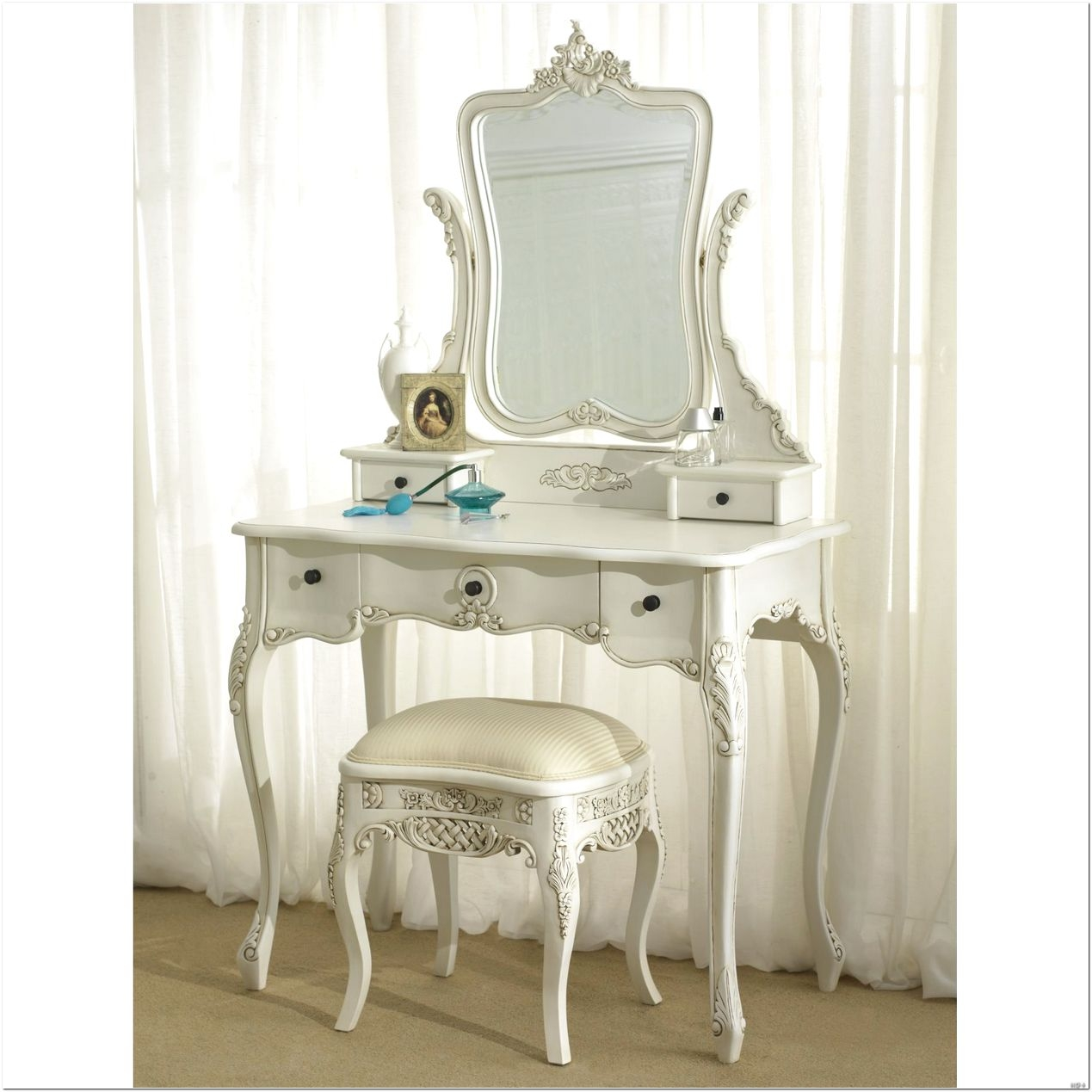 French Style Dressing Table Mirror Design Ideas Interior Design With French Style Mirrors Cheap (Image 9 of 15)