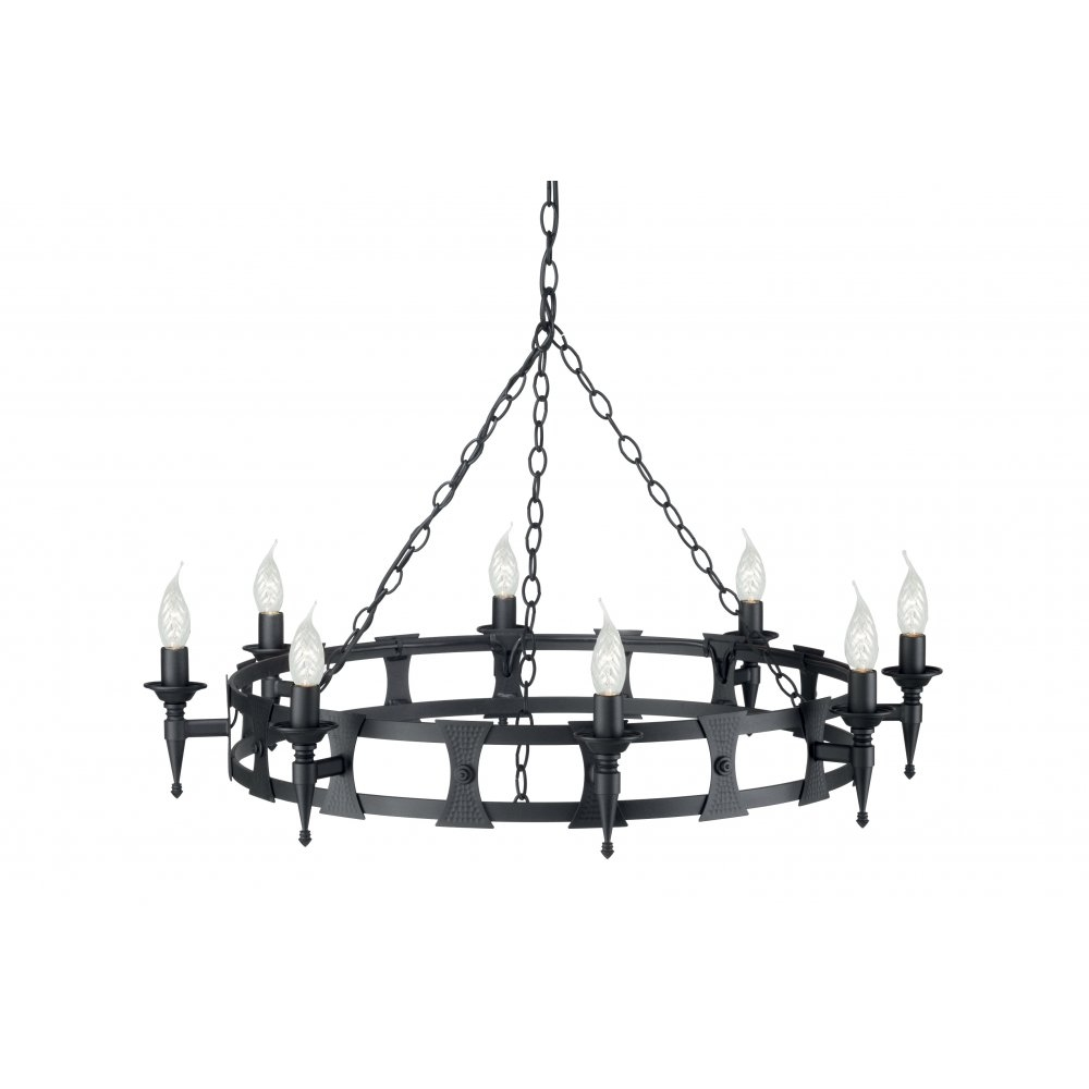 Fresh Black Wrought Iron Chandeliers Sale 20035 Intended For Black Iron Chandeliers (Image 10 of 15)