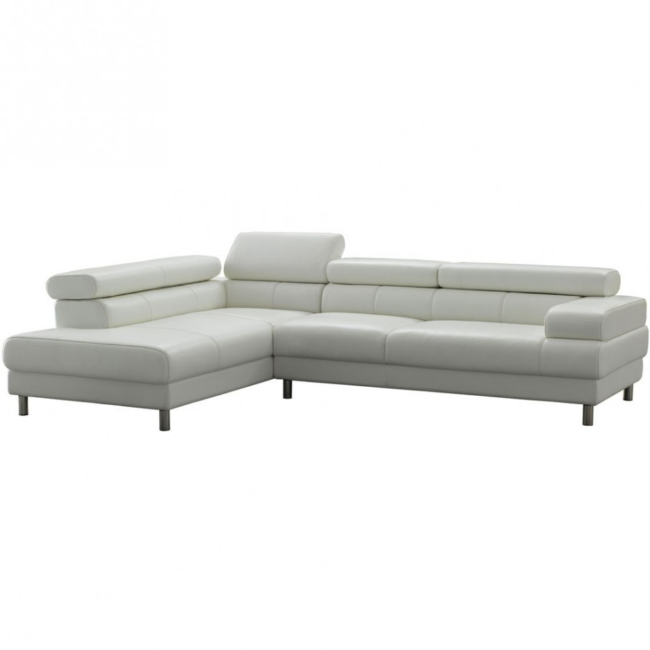Fresh Compact Leather Sectional Sofa 10643 Throughout Compact Sectional Sofas (Image 5 of 15)