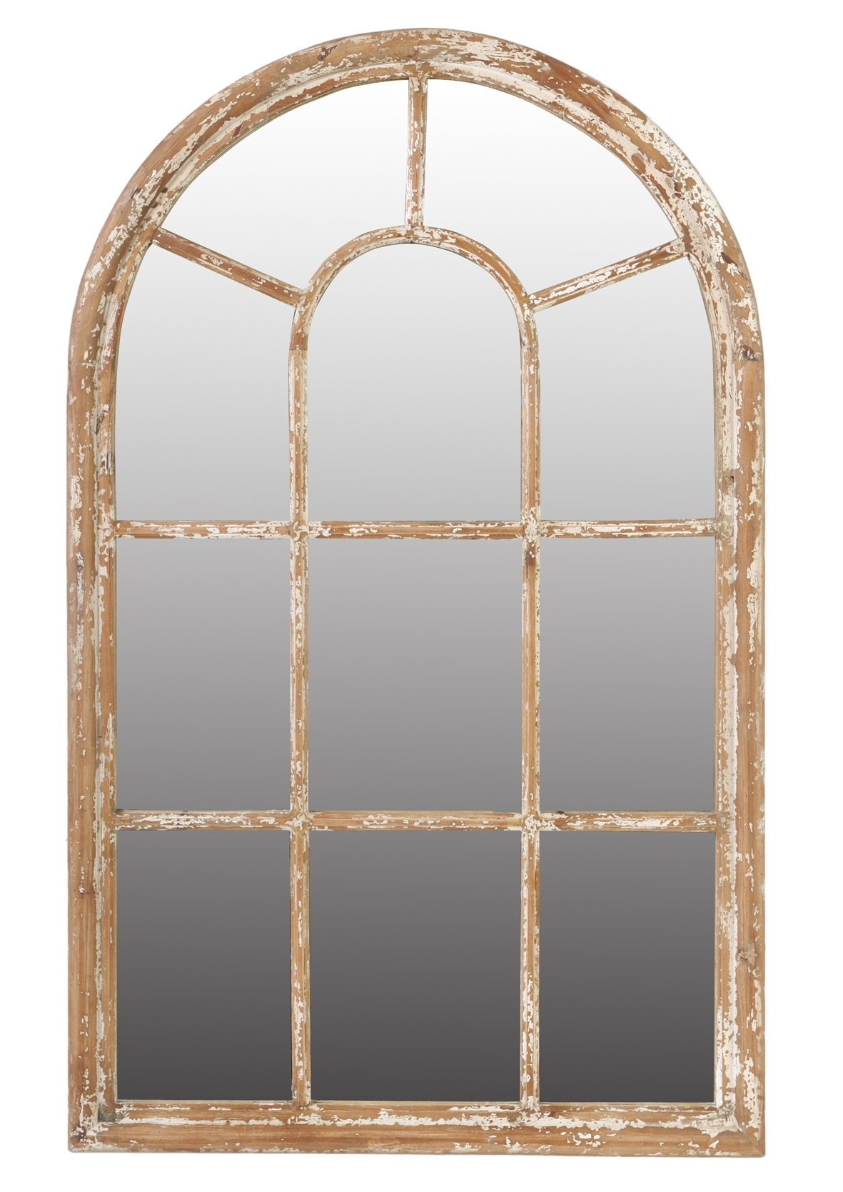 Fresh Creative Arched Window Mirror With Shutters 19757 Pertaining To Wall Mirror With Shutters (Image 10 of 15)