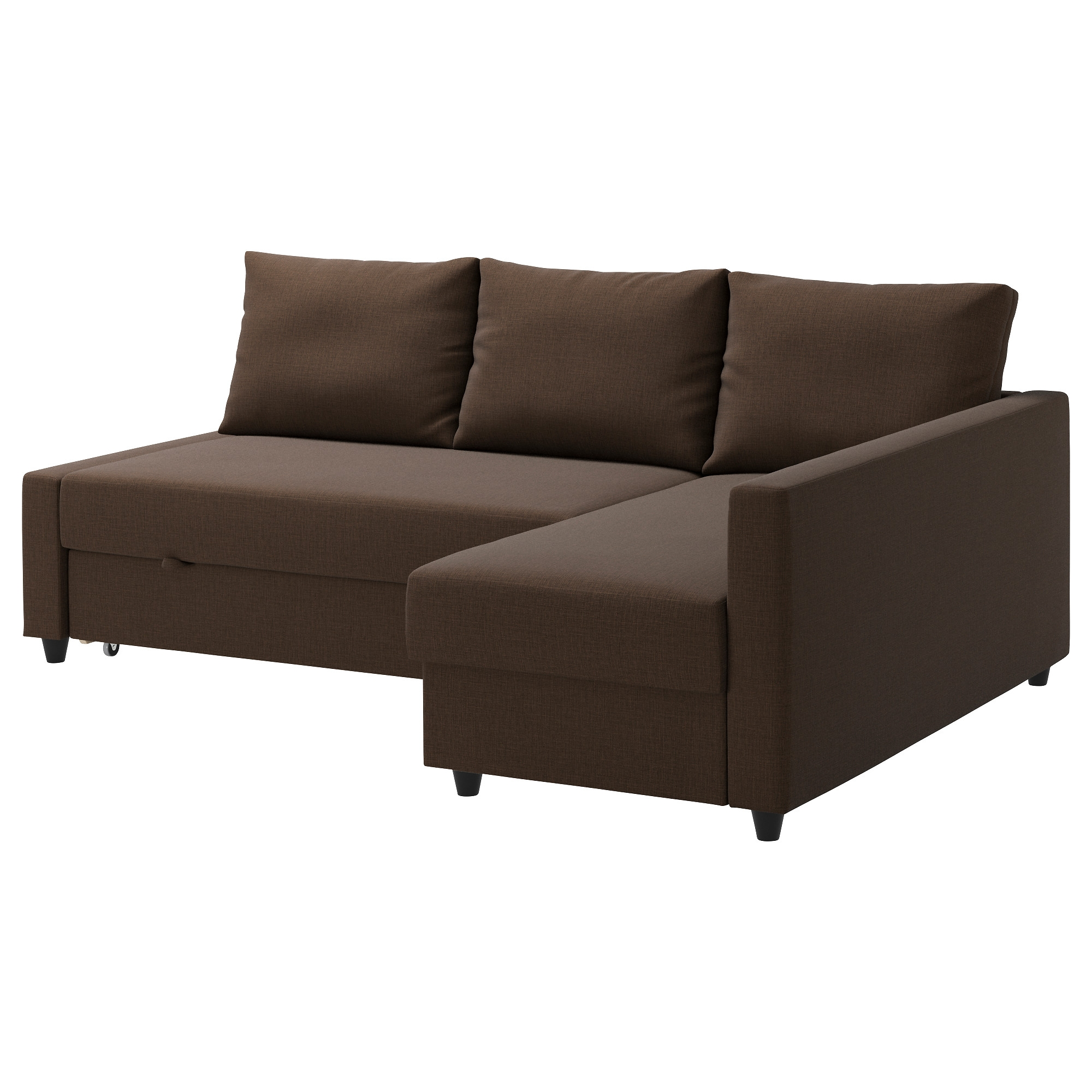 Friheten Corner Sofa Bed With Storage Skiftebo Dark Gray Ikea Intended For Corner Sofa Bed With Storage Ikea (Image 4 of 15)