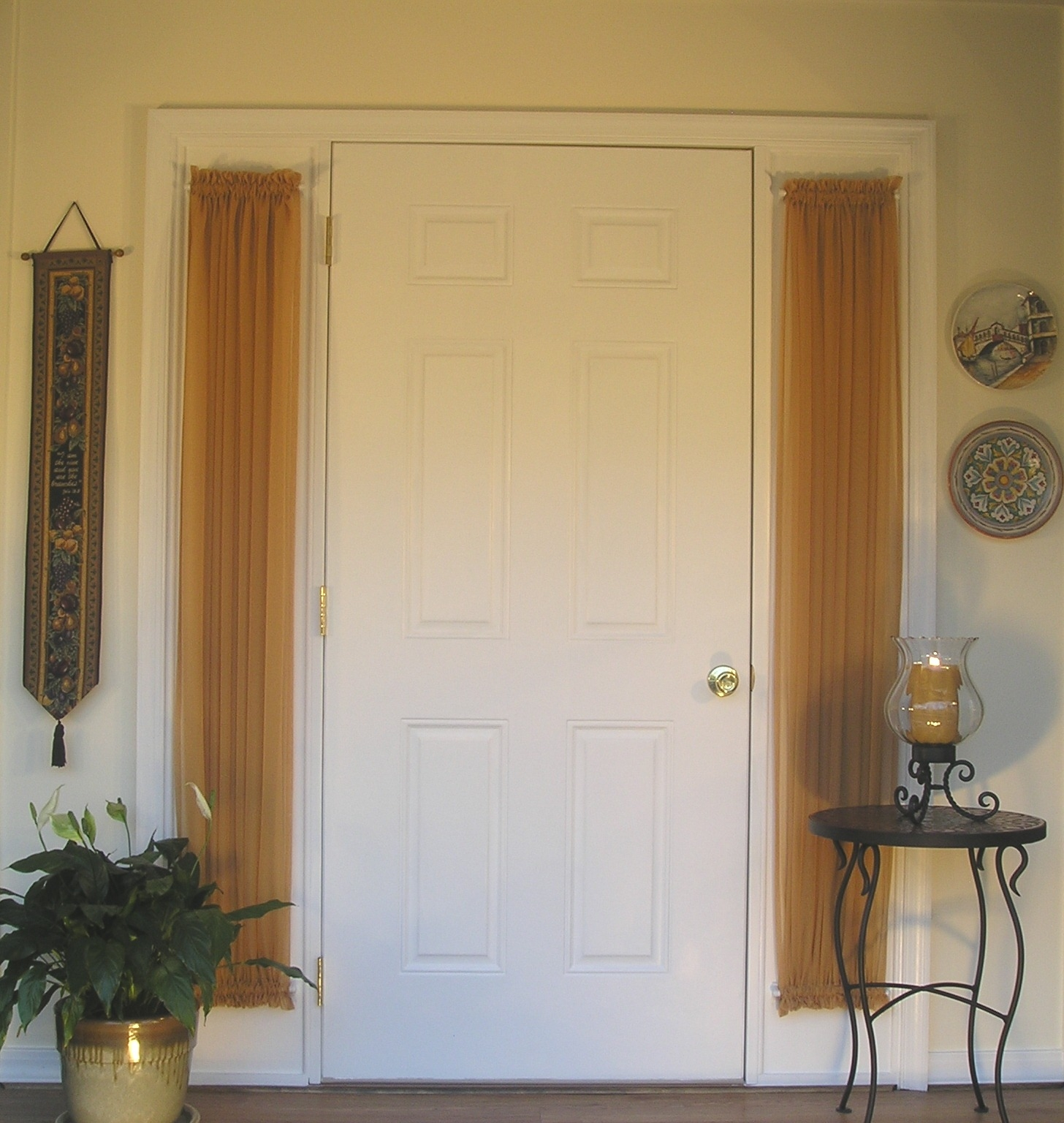 Front Door Side Panel Curtains Business For Curtains Decoration Inside Main Door Curtains (View 7 of 15)