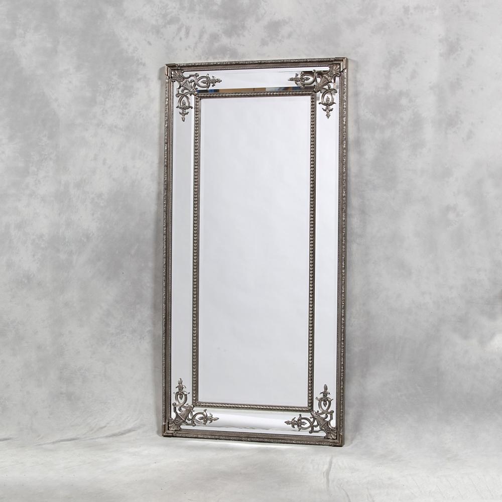 Full Length Mirror Uk Edmonton Leaner Mirror Modern Mirror Full Intended For Tall Ornate Mirror (Image 3 of 15)