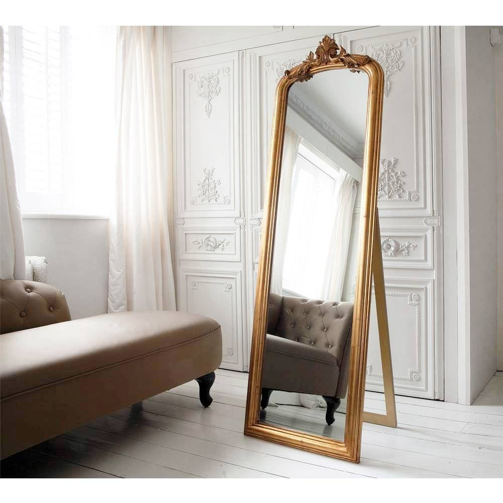 Full Length Mirrors French Bedroom Company Intended For French Full Length Mirror (Image 8 of 15)