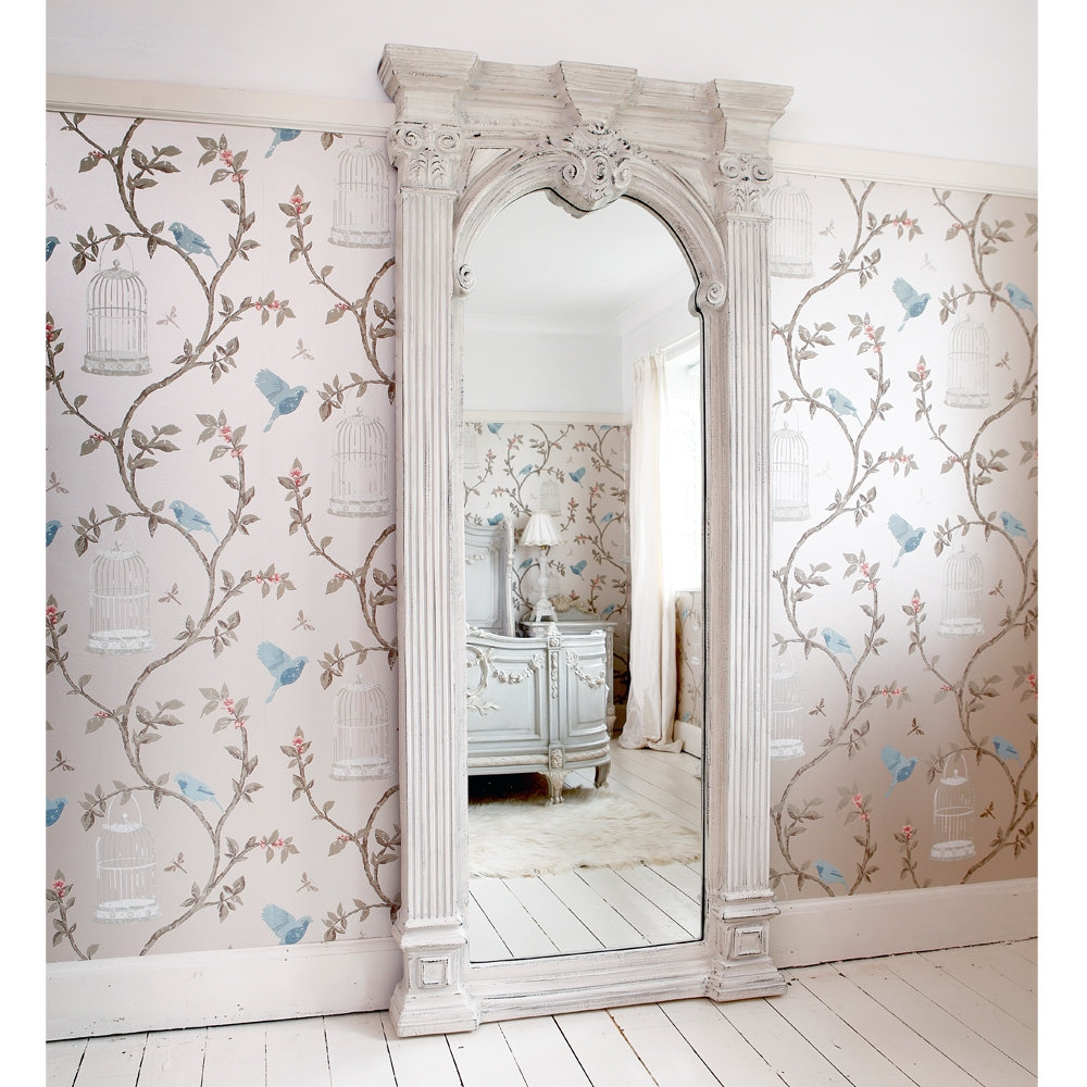 Full Length Old Fashioned Mirror Bedroom Pinterest French With French Full Length Mirror (View 9 of 15)