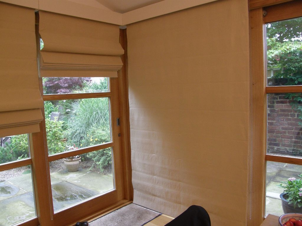 Full Length Roman Blinds In Sheffield South Yorkshire Gumtree Regarding Long Roman Blinds (Image 6 of 15)