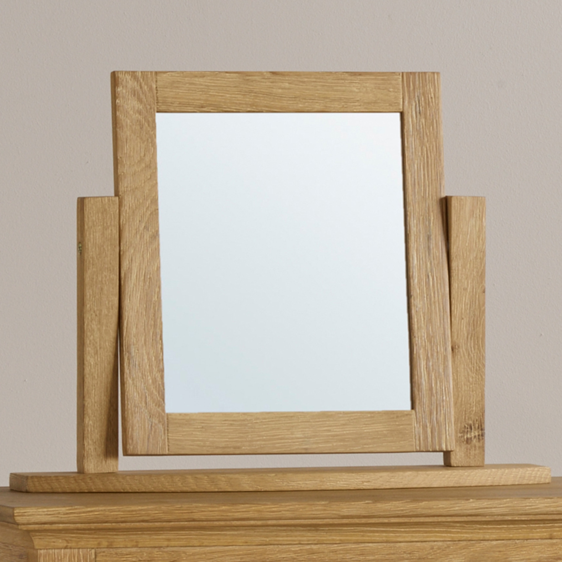 Full Length Table And Wall Mirrors Oak Furniture Land With Regard To Mirror On Stand For Dressing Table (Image 6 of 15)
