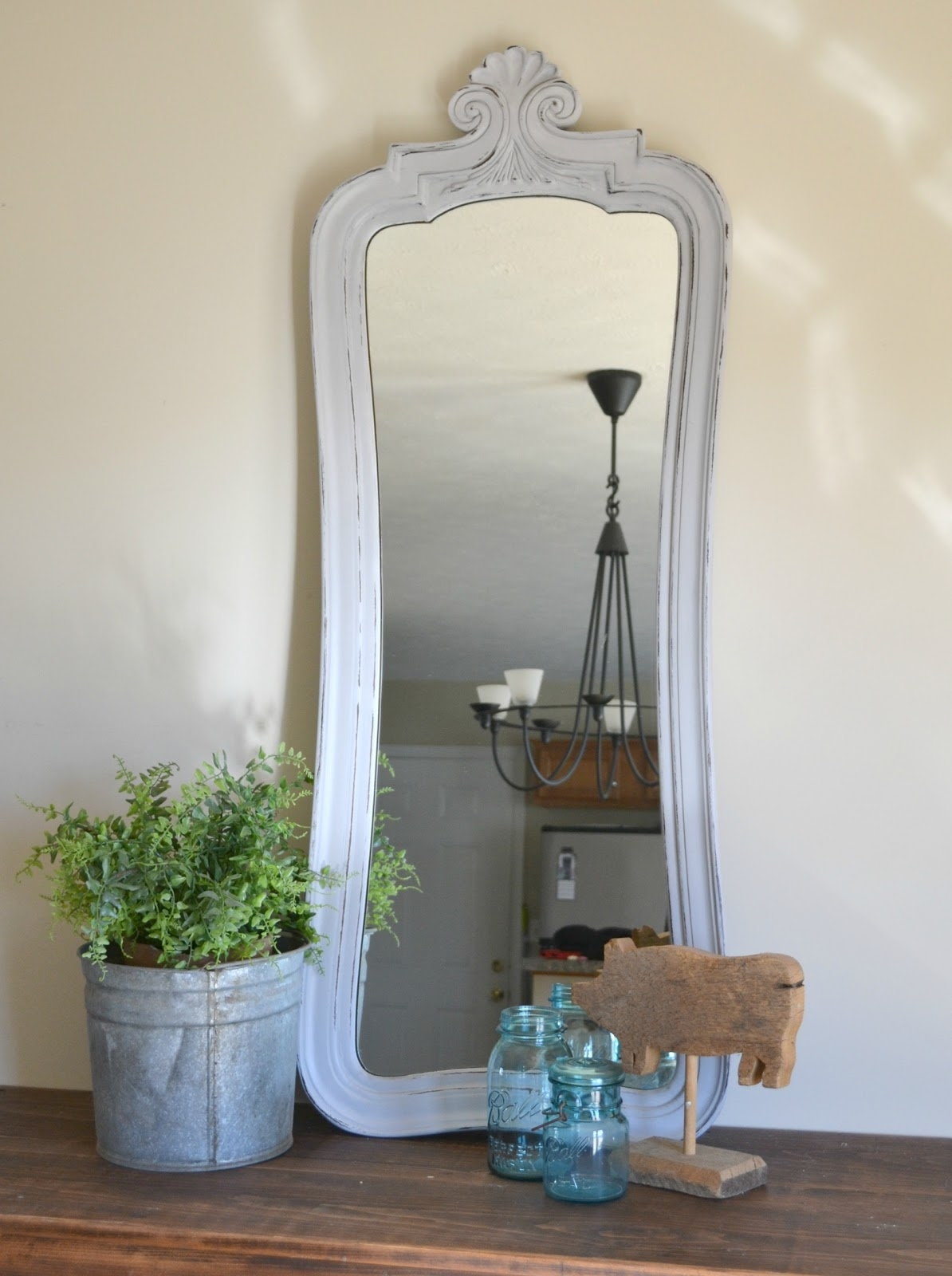 Funky Junk Mirror Mirror With Antique Full Length Mirror (Image 11 of 15)