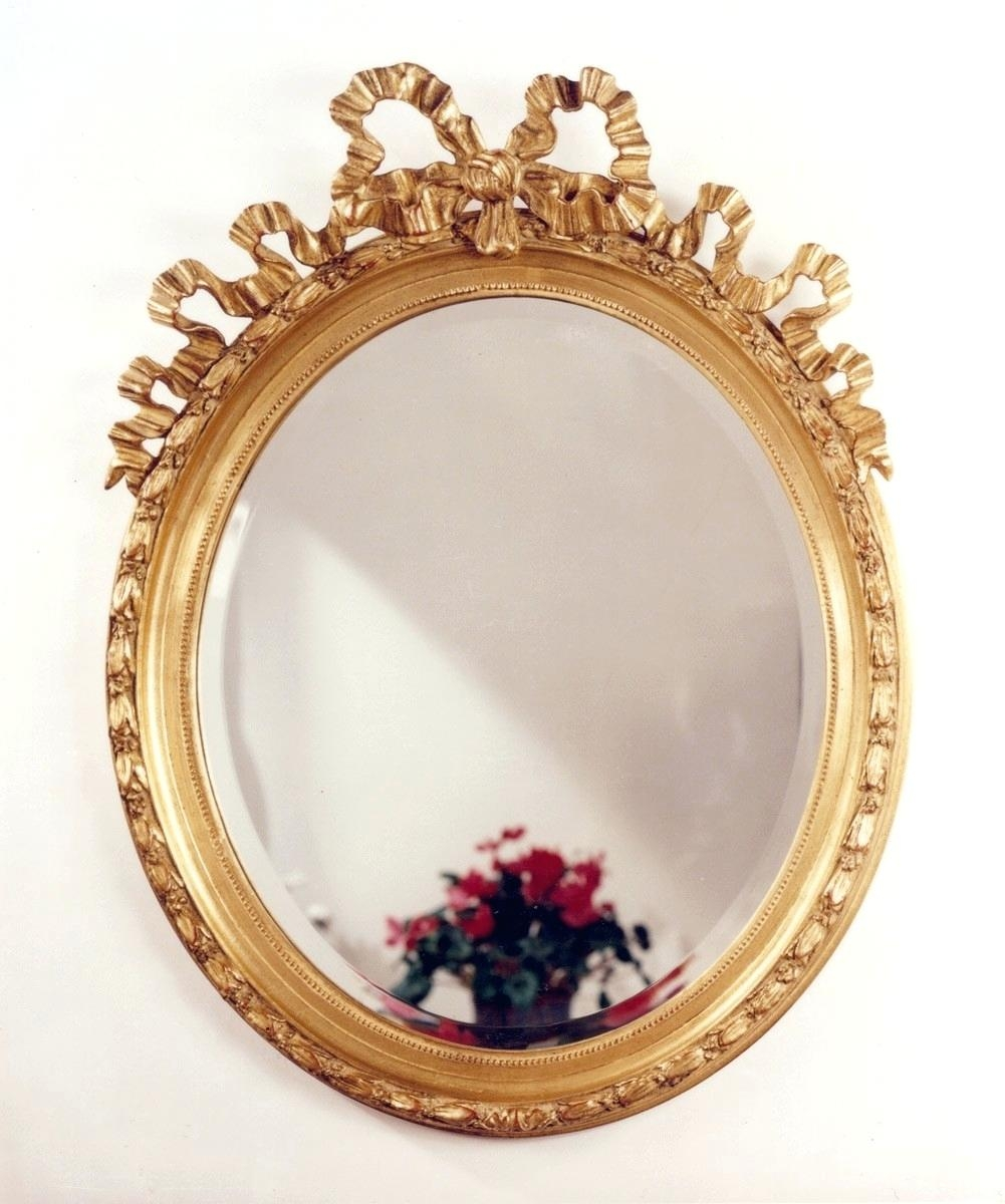 Funky Wall Mirror Marsciano Antique Gold Triple Folding Pitchloveco In Triple Oval Wall Mirror (Image 4 of 15)