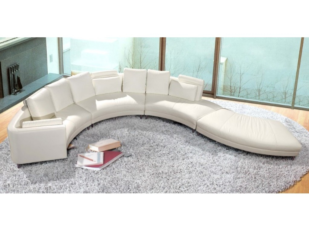 Furniture Alluring Unique Curved Couches With Classic Design Home Within Circular Sectional Sofa (Image 10 of 15)