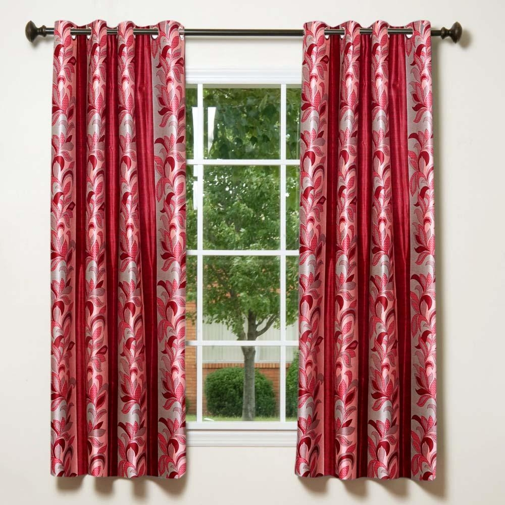 Furniture Astoria Taupe Mushroom Faux Silk Jacquard Curtains Pertaining To Silky Curtains (Image 8 of 15)