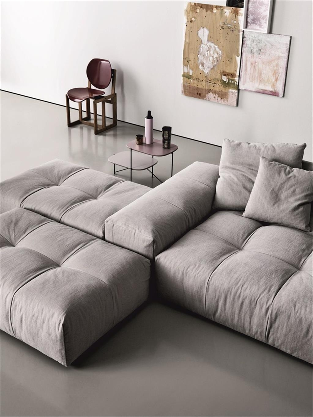 Furniture Awesome Modular Sectionals Sofas Cozy Modular In Cozy Sectional Sofas (Image 6 of 15)