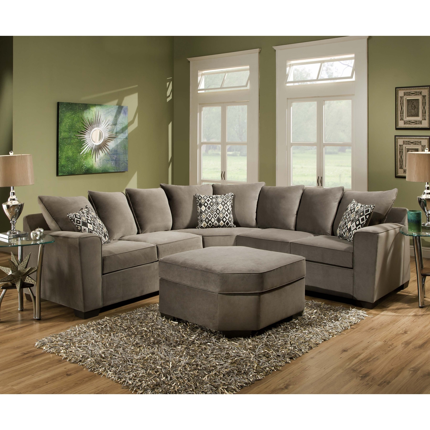 Furniture Comfy Design Of Oversized Couch For Charming Living For Comfy Sectional Sofa (Image 12 of 15)