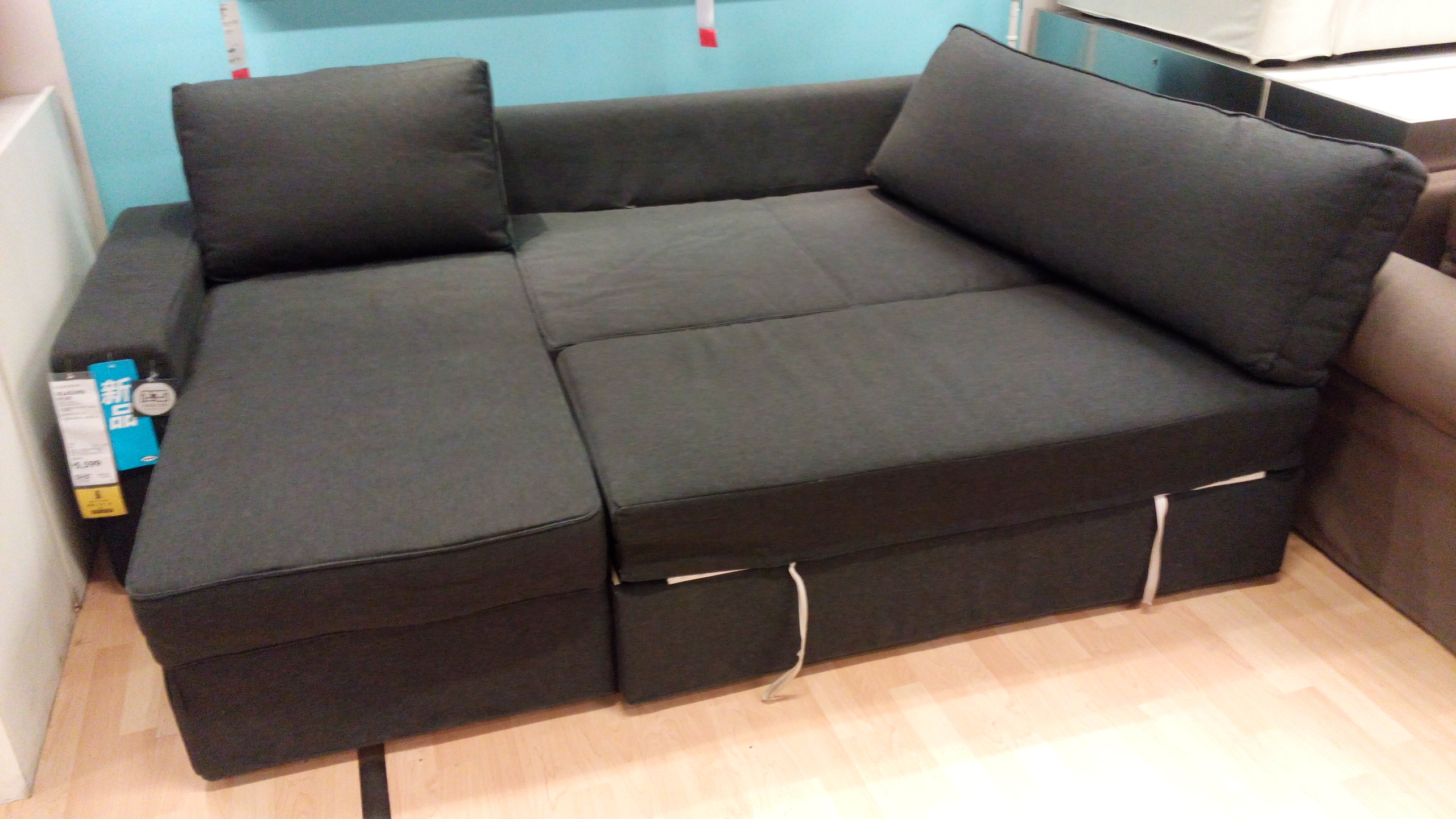 Furniture Luxury Sofa Bed Ikea For Home Furniture Ideas Nysben For Corner Sofa Bed With Storage Ikea (Image 9 of 15)