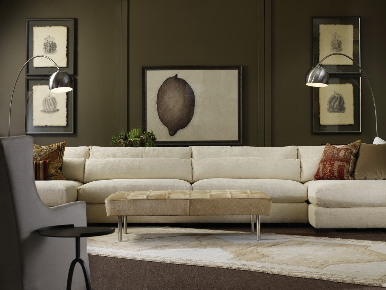 Furniture Nice Interior Furniture Design Robert Michaels Pertaining To Down Feather Sectional Sofa (Image 11 of 15)