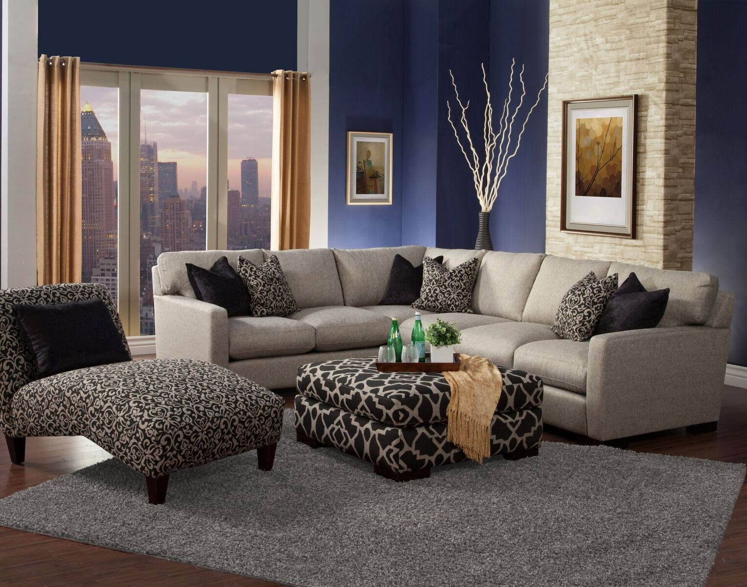Furniture Nice Interior Furniture Design Robert Michaels Pertaining To Down Feather Sectional Sofa (Image 10 of 15)