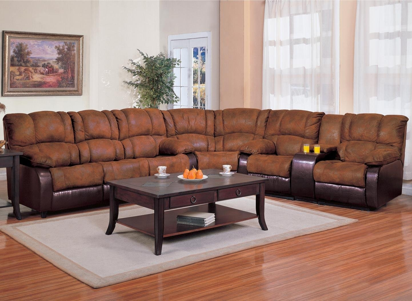 Furniture Rug Fancy Sectional Sleeper Sofa For Best Home Pertaining To C Shaped Sectional Sofa (Image 9 of 15)