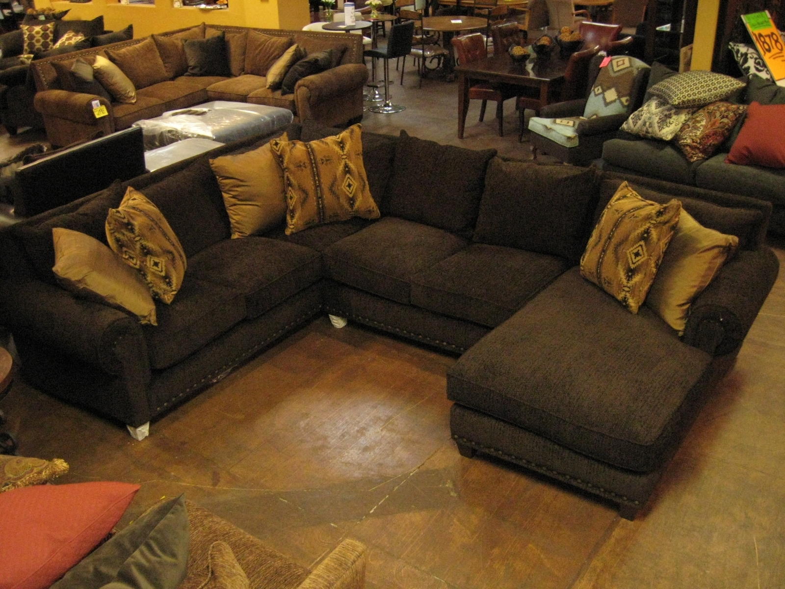 Furniture Sofas With Down Cushions Robert Michaels Furniture With Down Filled Sectional Sofas (View 11 of 15)