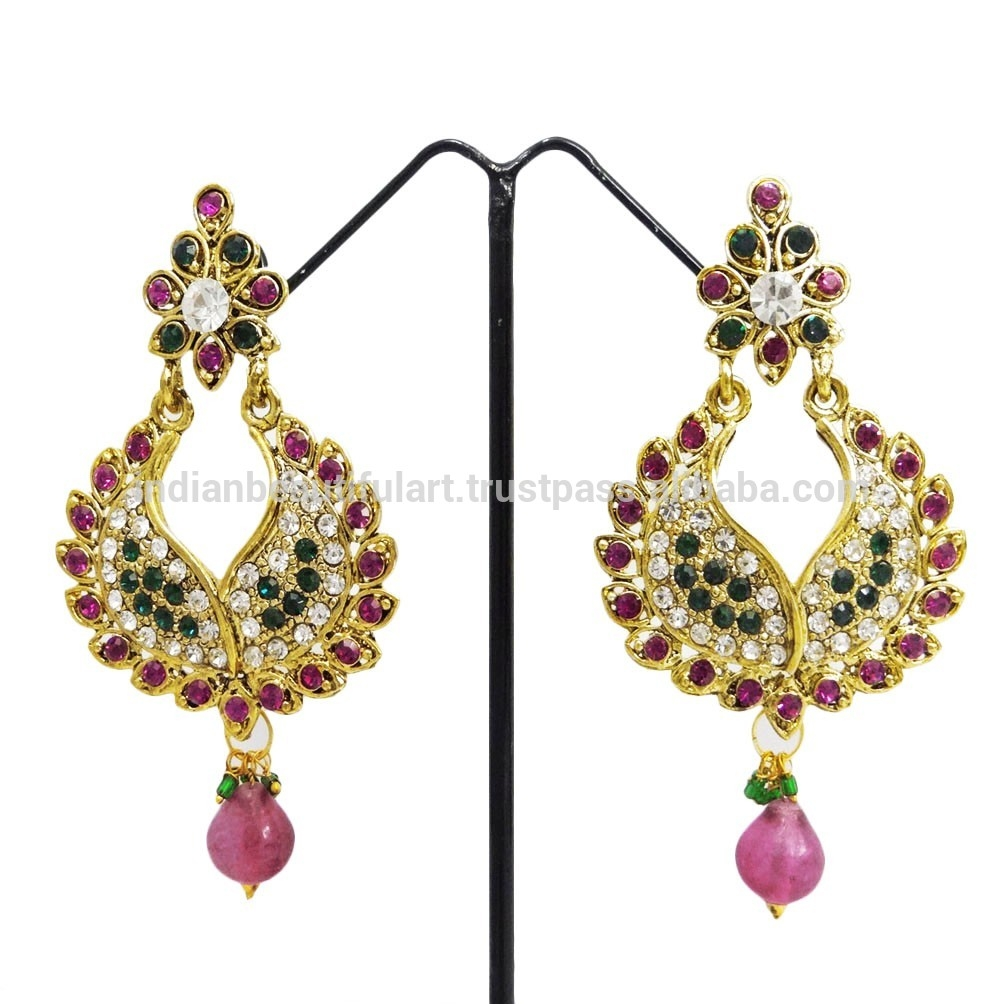 15 fuschia chandelier chandelier ideas fuschia chandelier earrings earrings collection throughout fuschia chandelier image 5 of 15 aloadofball Image collections