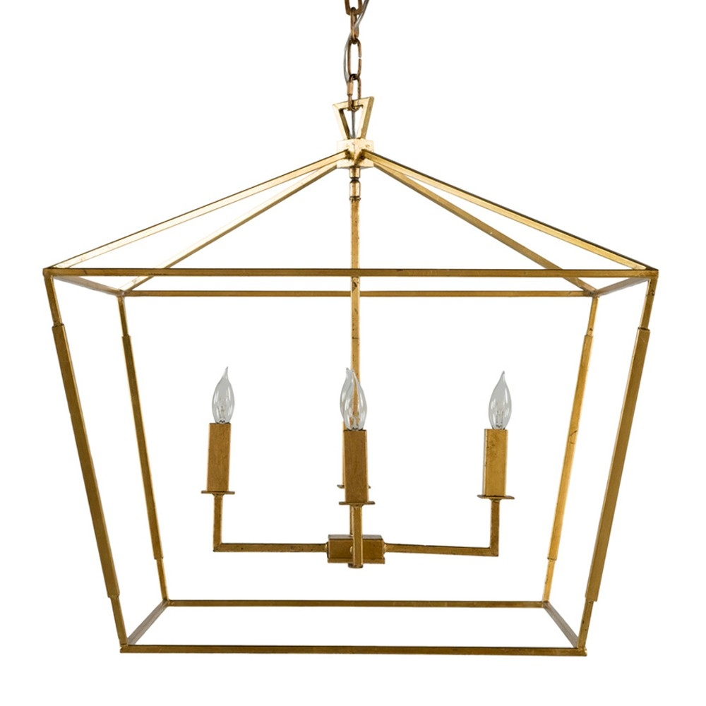 Gab Adler Small Chandelier Gold Candelabra Inc With Regard To Gabby Chandelier (Image 1 of 15)