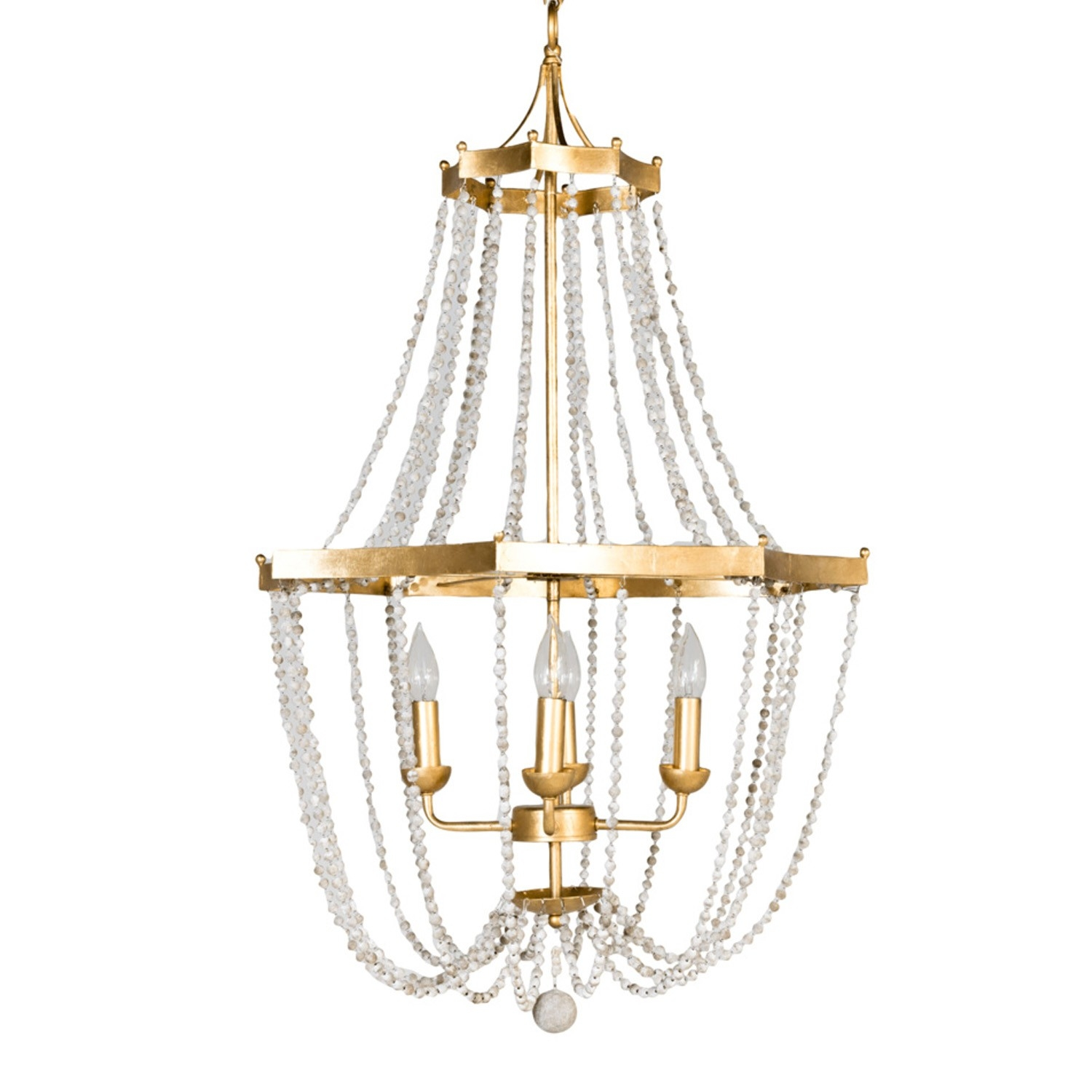 Gab Whitney Chandelier Gold Candelabra Inc With Gabby Chandelier (Image 15 of 15)