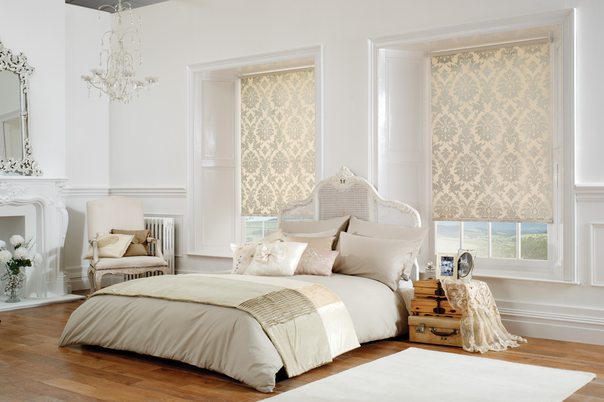Galaxy Blinds Roman Blinds Intended For Gold Roman Blinds (View 6 of 15)