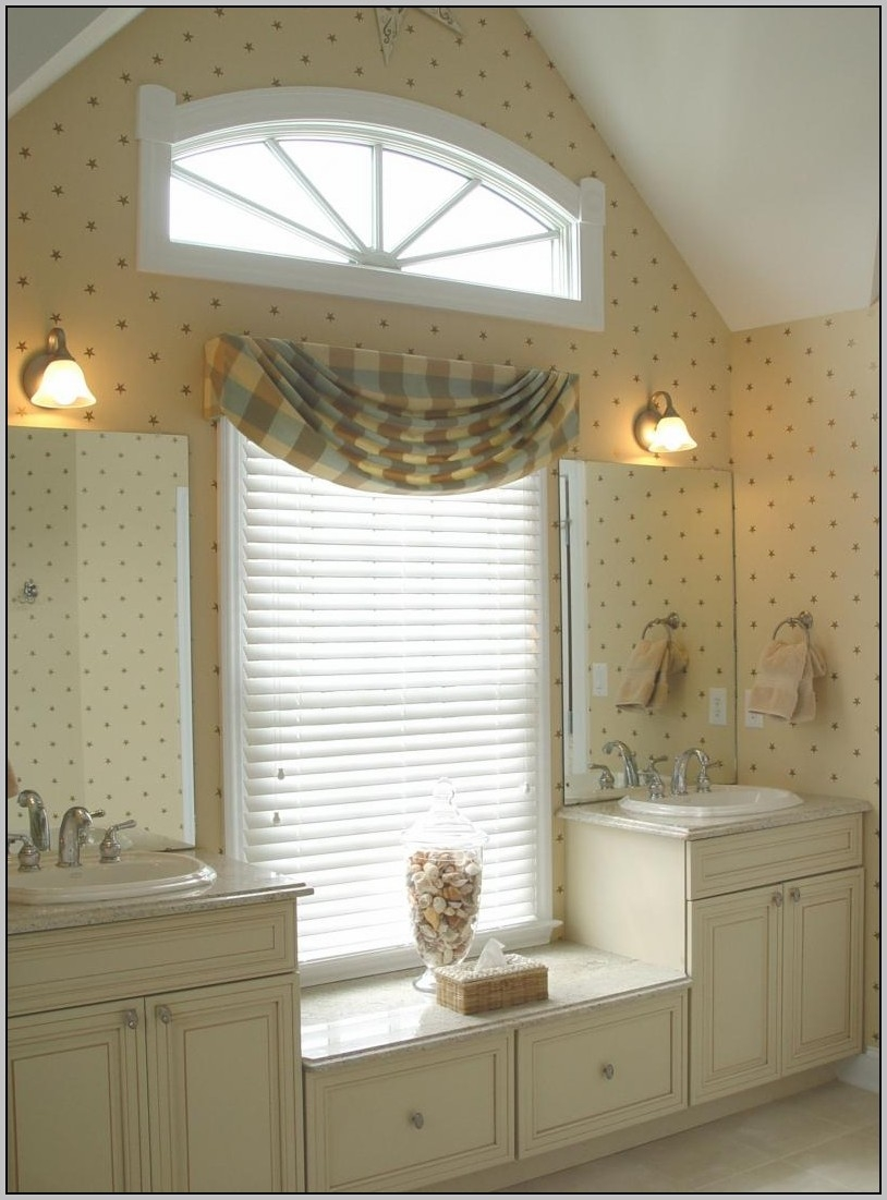 Gallery Of Bathroom Window Curtains Ideas For 4278 For Curtains For Bathrooms Windows (Image 9 of 15)