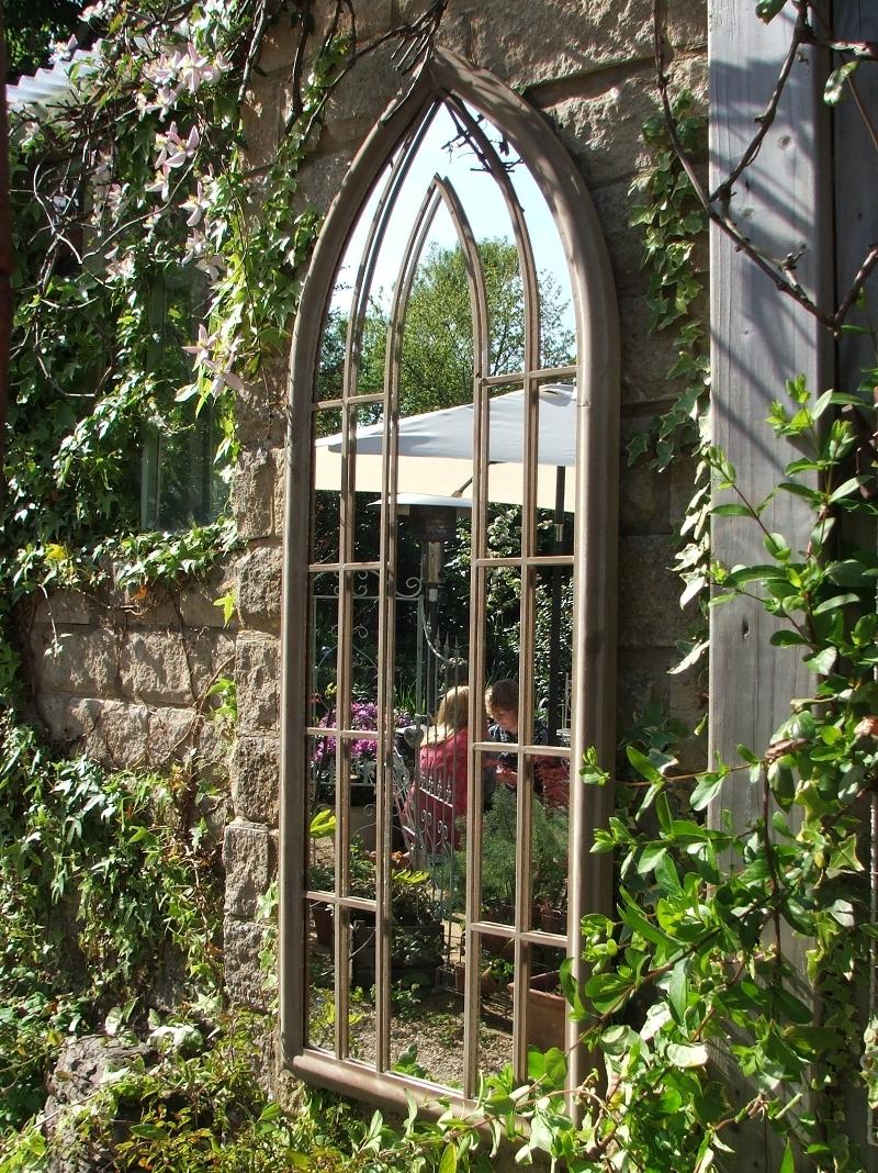 15 Photos Garden Window Mirror Mirror Ideas