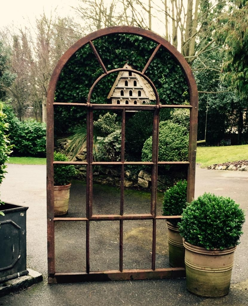 Garden Mirrors Applications To Reflect The Outdoor And Styles With Regard To Garden Mirrors (View 6 of 15)