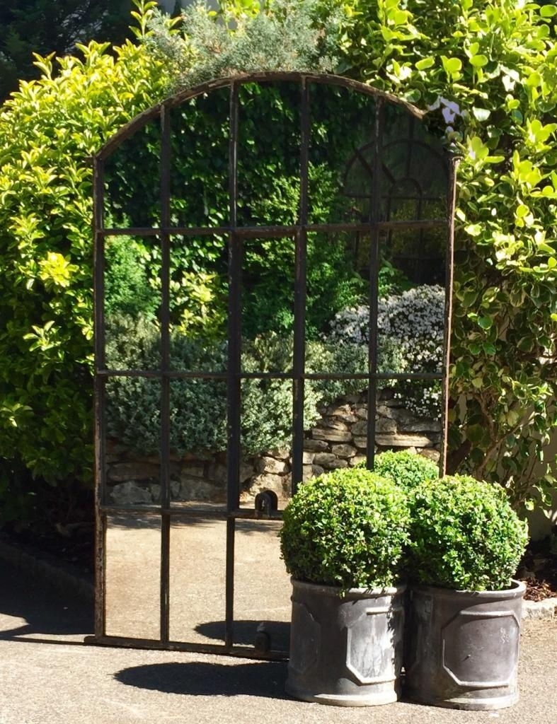 Garden Mirrors Applications To Reflect The Outdoor And Styles With Regard To Garden Mirrors (Image 7 of 15)