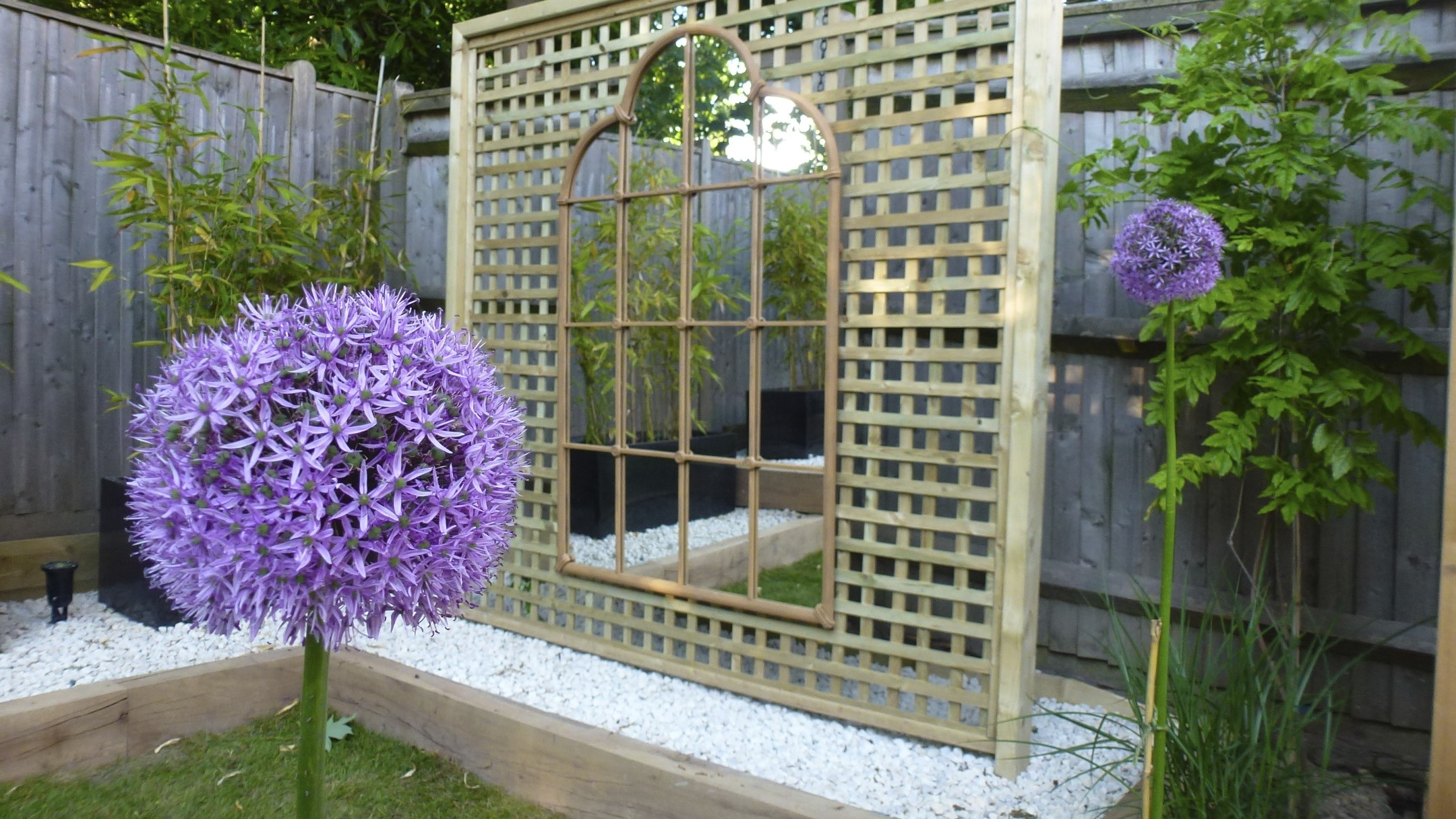 Garden Mirrors Garden Mirror 6ft X 1ft Large Narrow Garden Mirror Regarding Garden Mirrors (Image 11 of 15)
