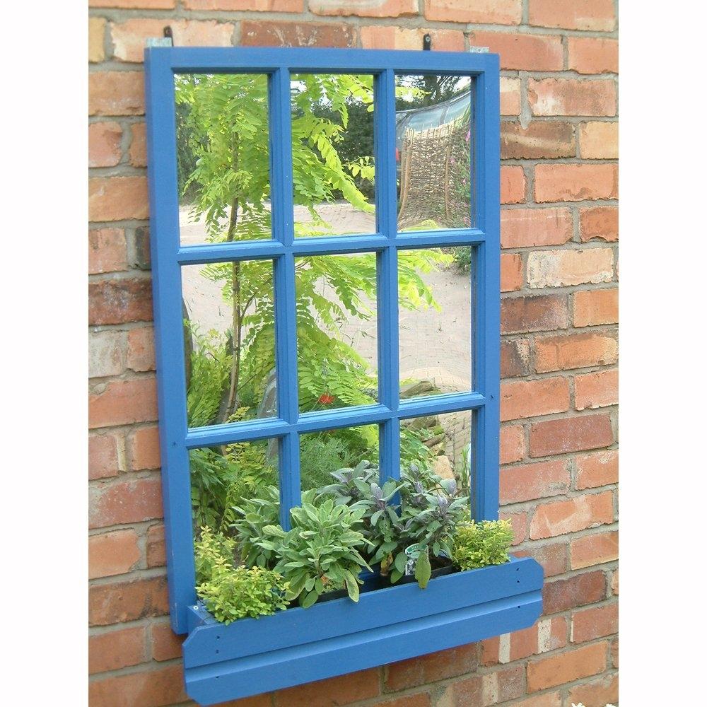 Garden Window Mirror Garden Intended For Garden Window Mirror (Image 4 of 15)