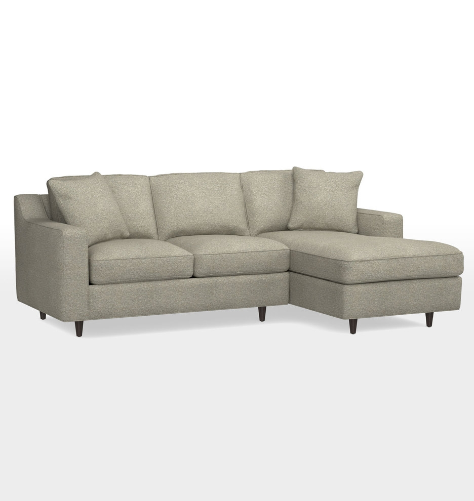 Garrison Small Sectional Sofa Small Sectional Sofa Sectional Intended For Angled Chaise Sofa (Image 9 of 15)