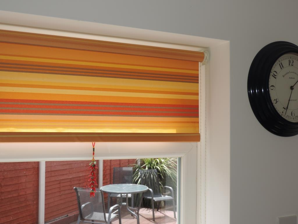 Geoff Wilkinsons Select Blinds Roller Blinds Blackpool Pertaining To Orange Roller Blinds (Image 7 of 15)