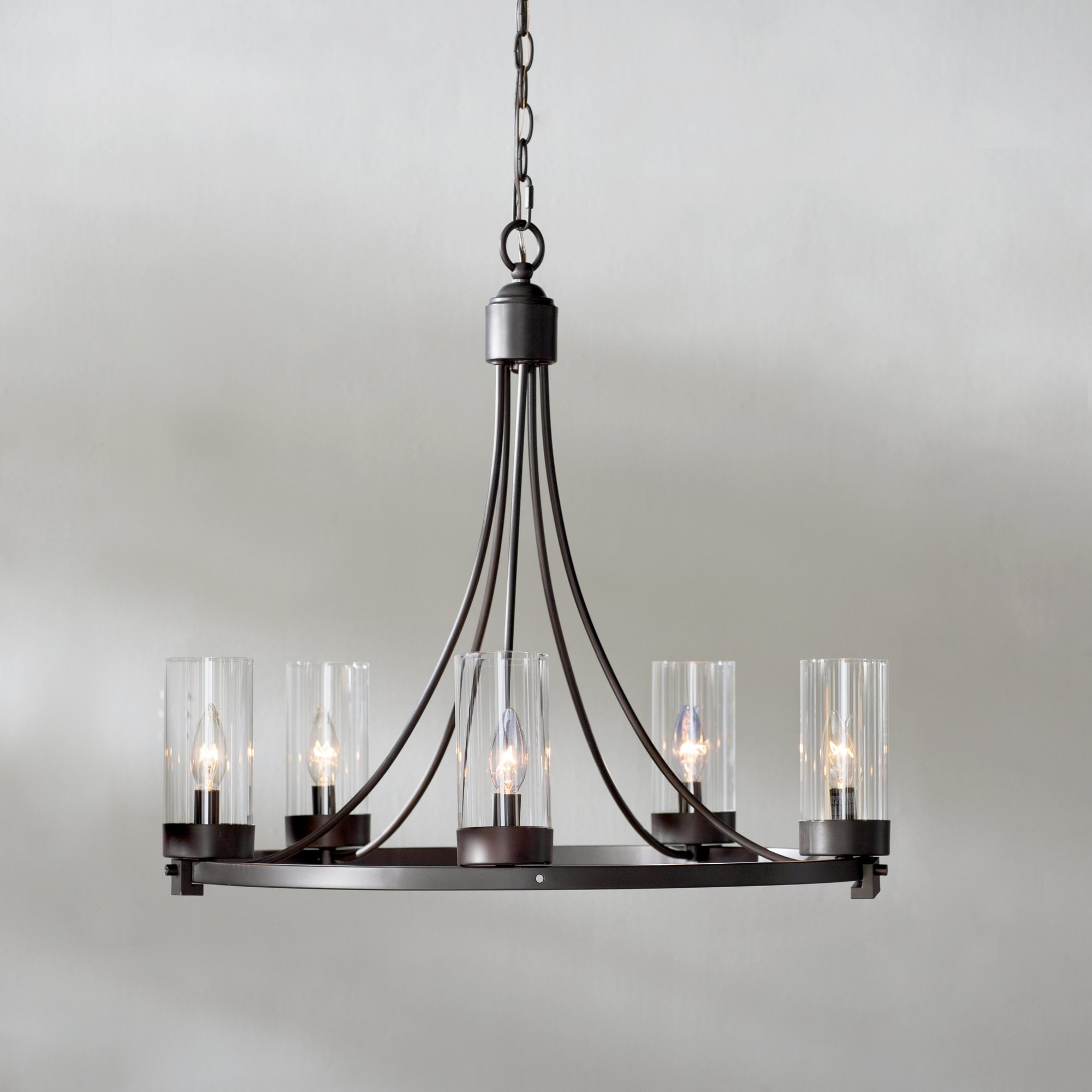 Georgina 5 Light Candle Chandelier Reviews Joss Main In Candle Chandelier (Image 6 of 15)