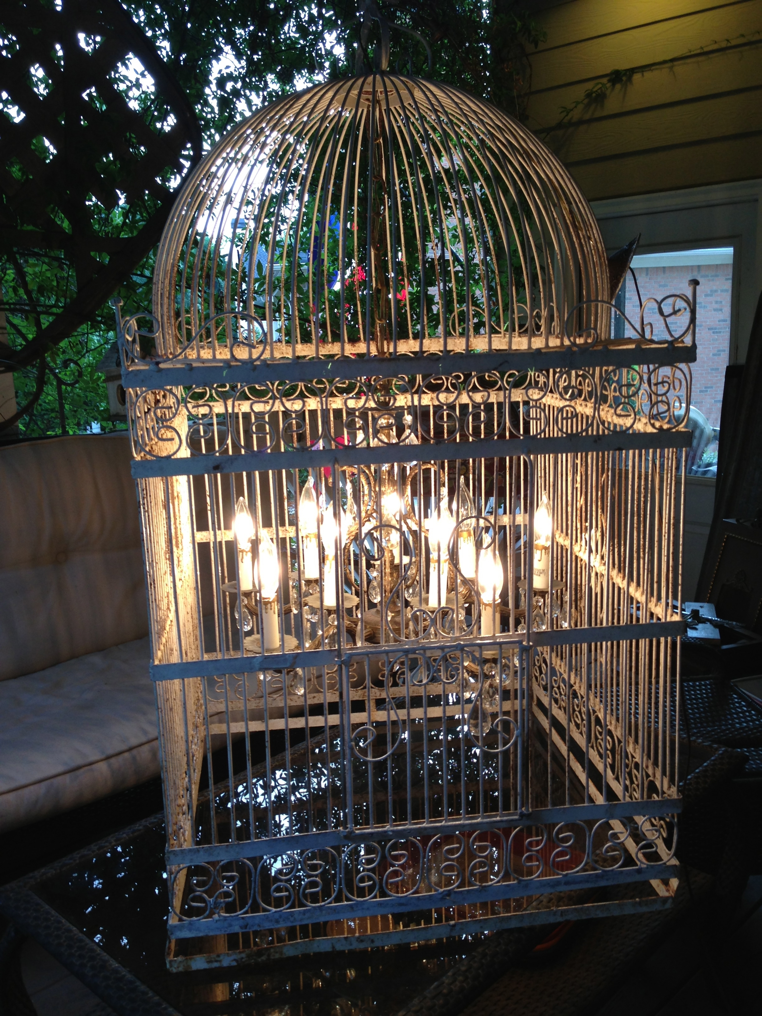 Giant Birdcage Chandelier For The Home Pinterest Birdcage With Giant Chandeliers (Image 5 of 15)