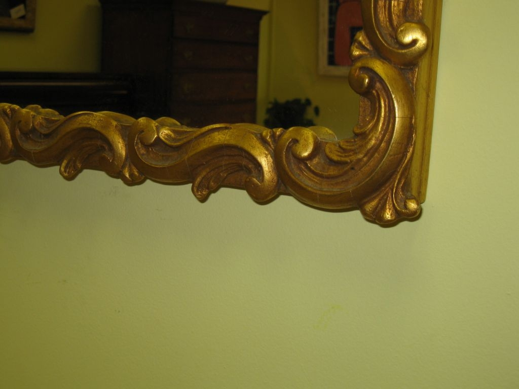 Gilt Framed Mirror Sold Within Large Gilt Framed Mirror (Image 8 of 15)