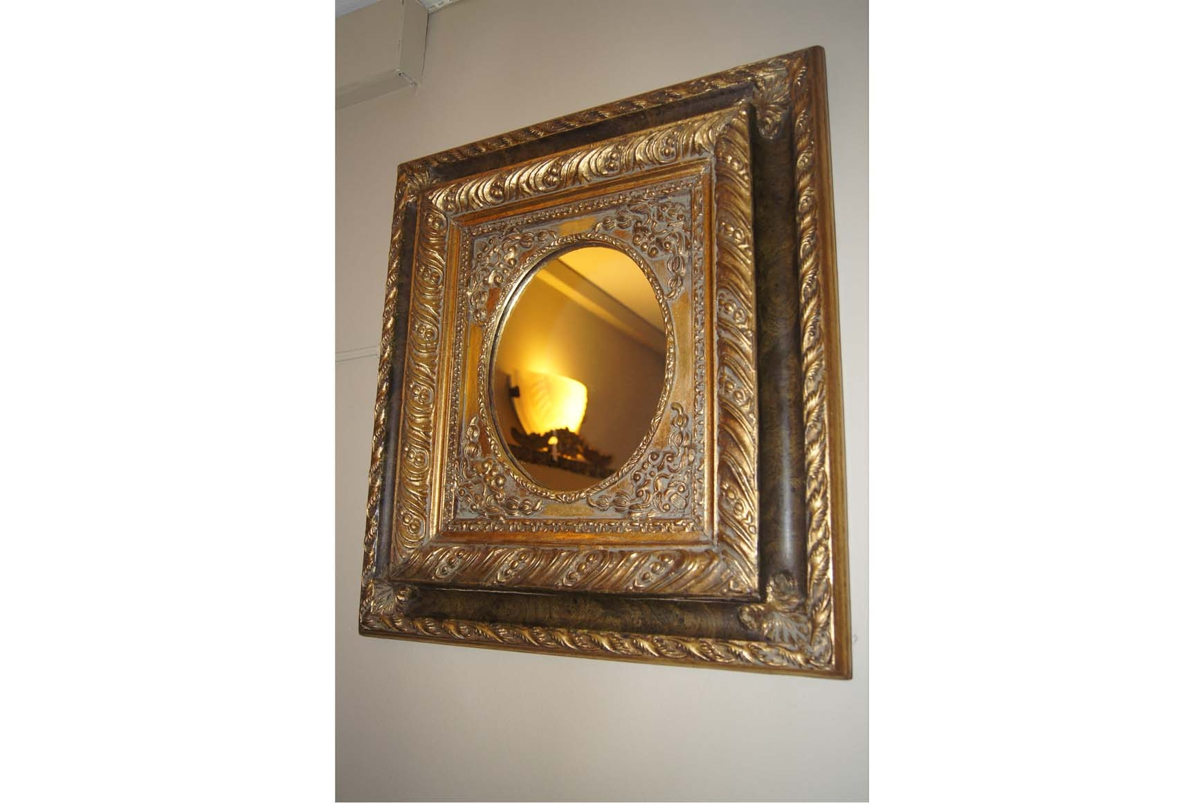 Gilt Framed Mirror Ziora With Regard To Gilt Framed Mirror (Image 7 of 15)