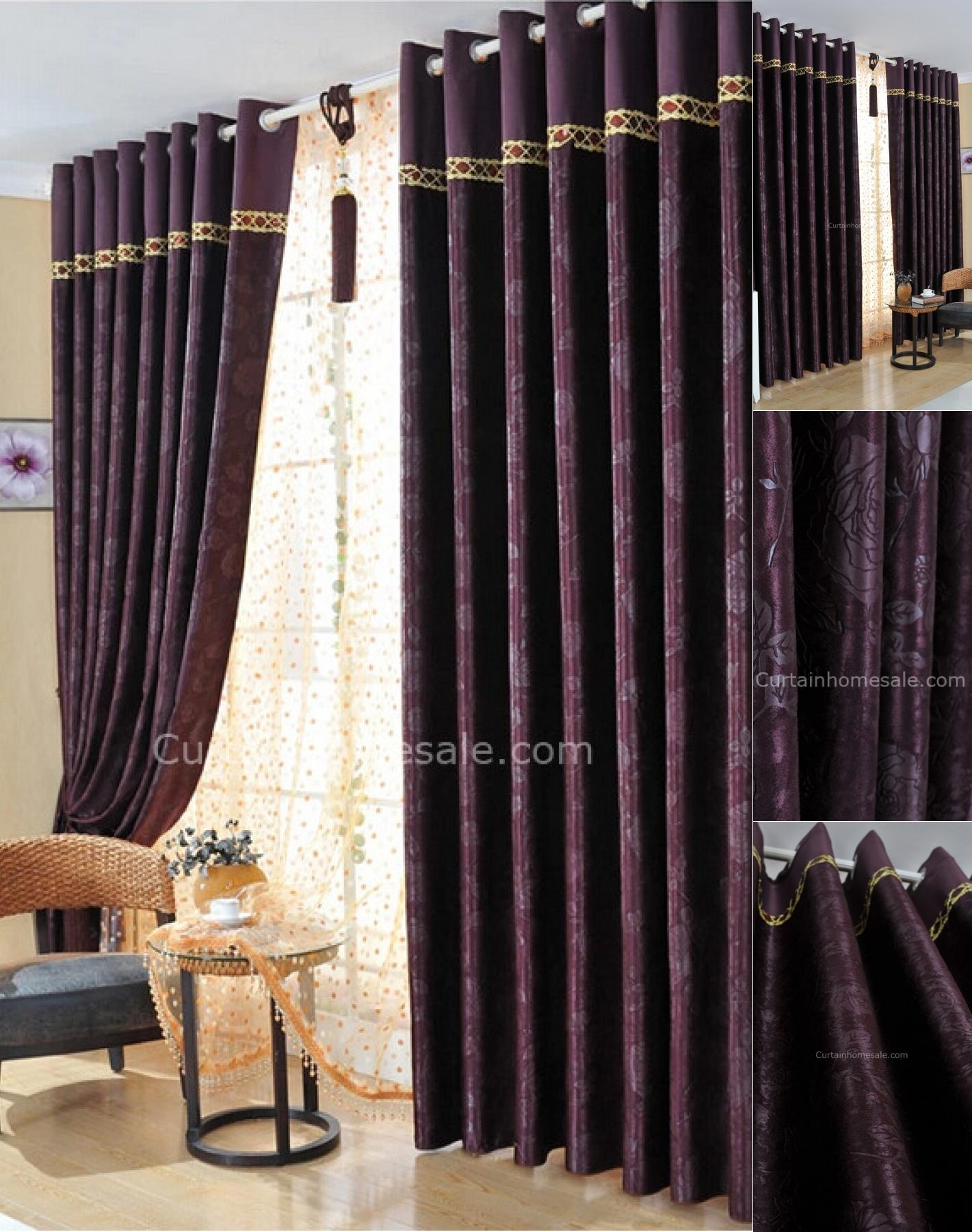 Girls Bedroom Curtains Thick Blackout Sheers Boys For Girl Gallery Intended For Thick Bedroom Curtains (View 4 of 15)