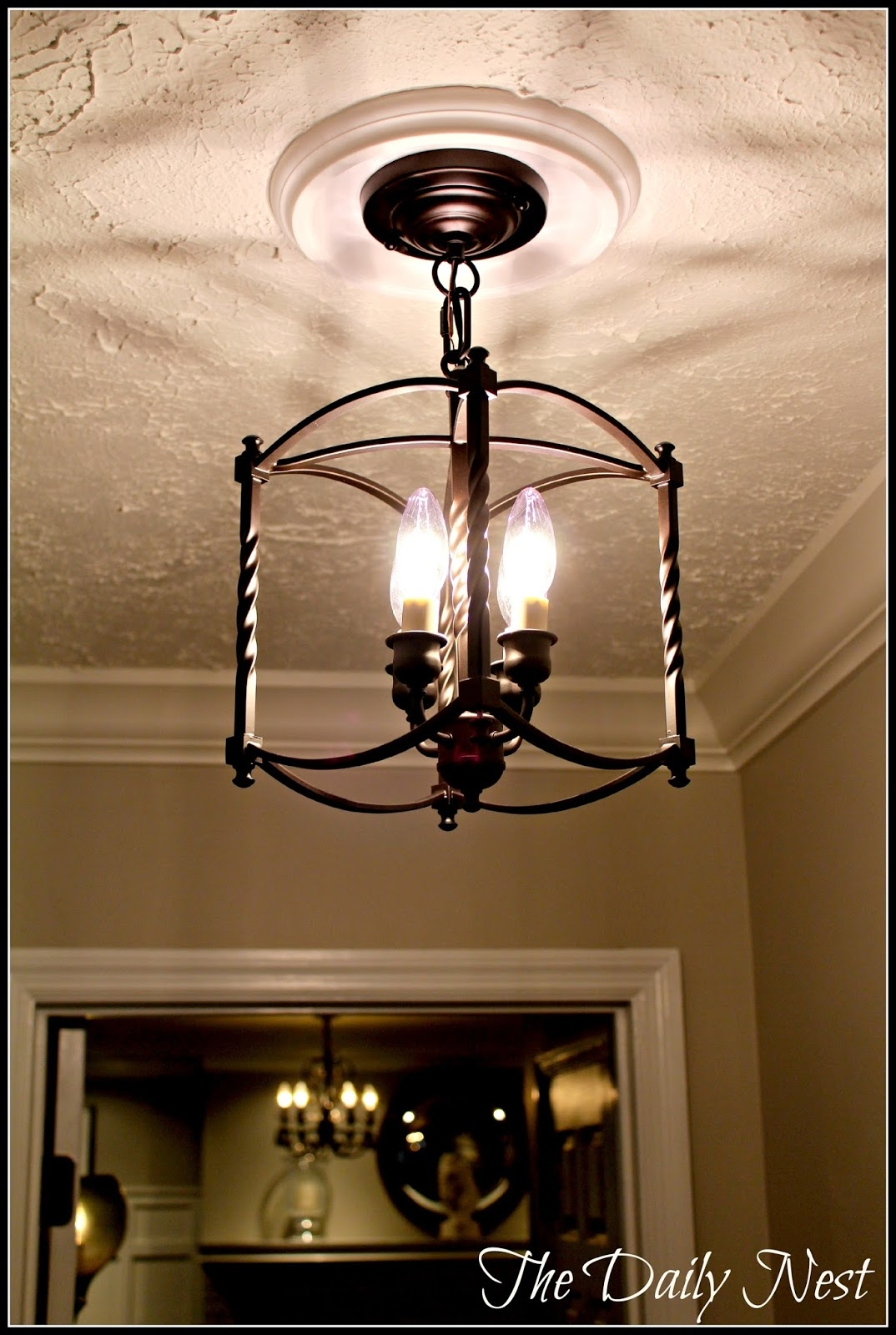 Given Some Hallway Love Throughout Chandeliers For Hallways (Image 7 of 15)