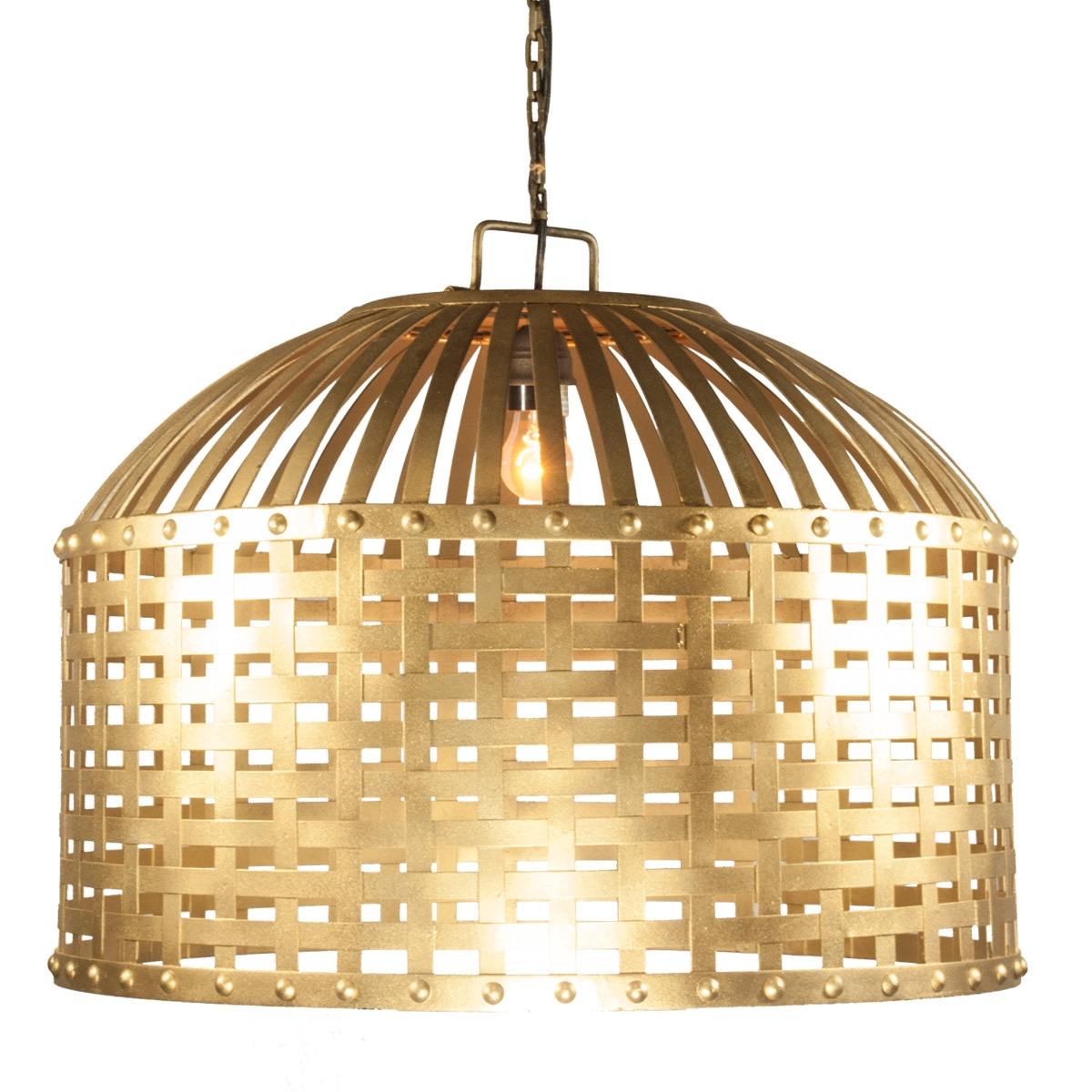 Gold Cage Chandelier Celebrations Party Rentals With Caged Chandelier (Image 8 of 15)