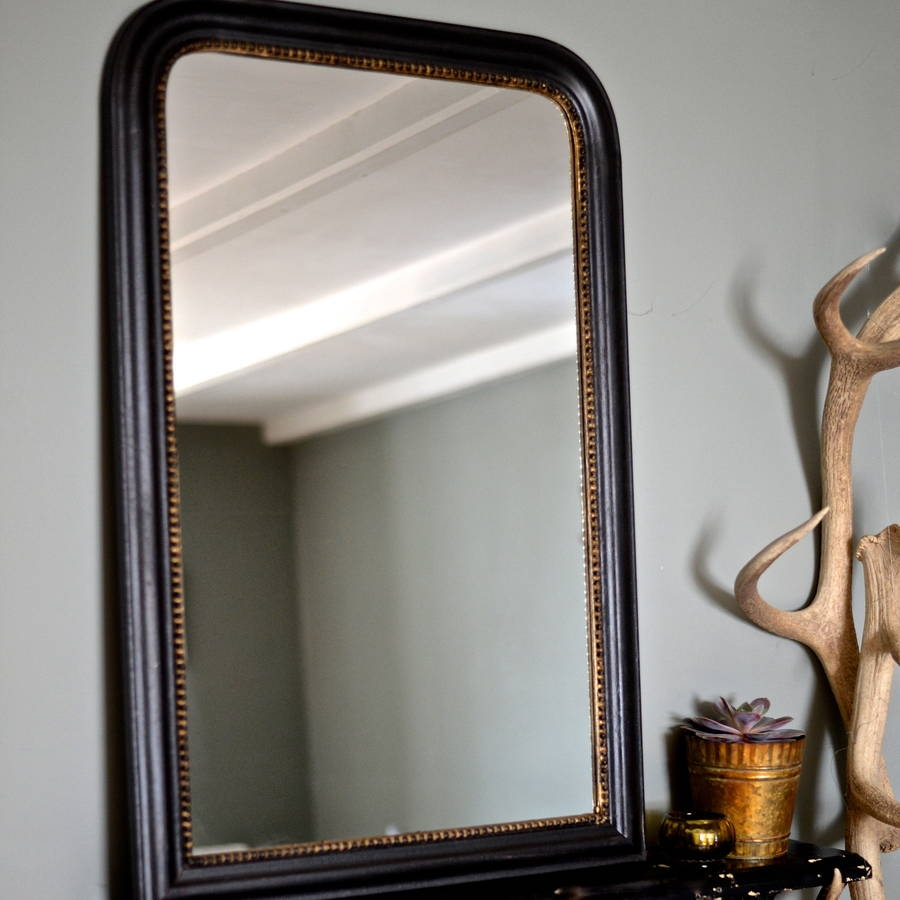Gold Edged Vintage Wall Mirror The Forest Co Regarding Old Fashioned Wall Mirrors (Image 9 of 15)