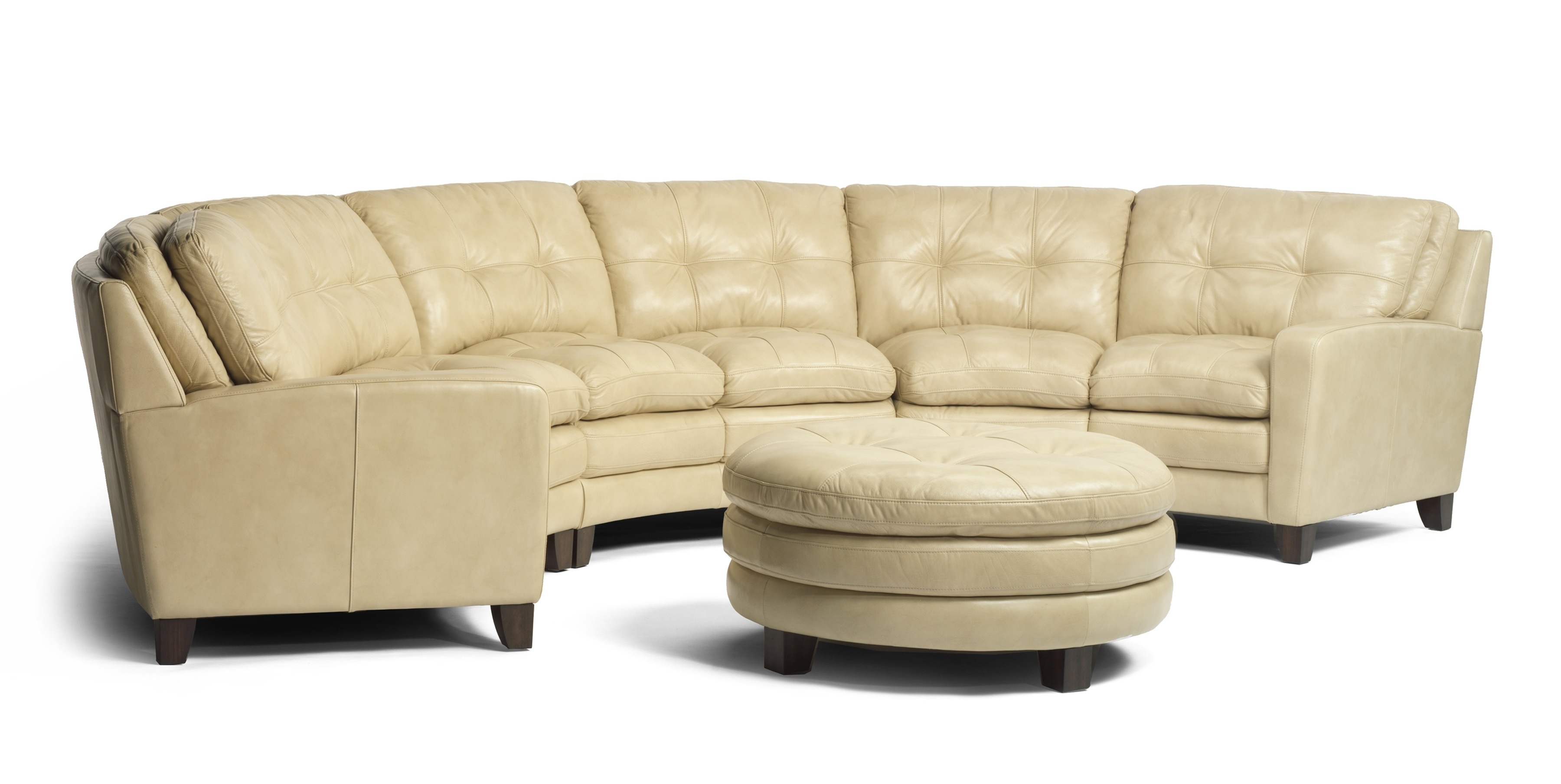 Gorgeous Cream Leather Conversation Sofa Wwwawfurniture Regarding Conversation Sofa Sectional (View 8 of 15)